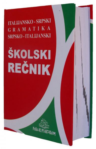 Italijansko - srpski i srpsko - italijanski rečnik sa gramatikom
