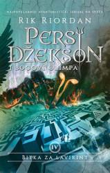 Persi Džekson i bogovi Olimpa 4 : Bitka za lavirint - Rik Riordan