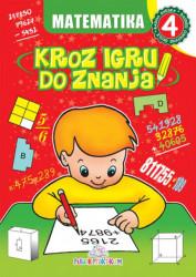 Matematika 4 - Kroz igru do znanja (bosanski) - Jasna Ignjatović