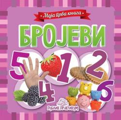 Moja prva knjiga - Brojevi - Kartonska slikovnica - Jasna Ignjatović