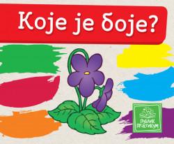 Koje je boje - Mala kartonska slikovnica - Jasna Ignjatović