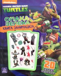 TMNT Opaka zelena knjiga zanimacija - Nickelodeon
