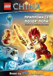 LEGO® CHIMA - Pripremi, se pozor, lepi! 290 nalepnica - LEGO® knjige