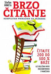 Brzo čitanje - kompletan priručnik sa vežbama - Stefan Krneta