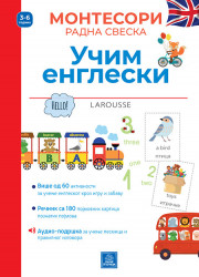 Larousse Montesori radna sveska - Učim engleski - Lidija Baruso