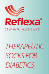 Reflexa® Diabetic Thin tanke čarape za osobe sa dijabetesom