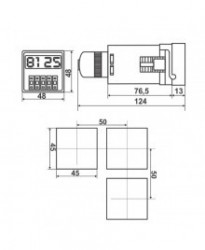 DH48J 24VDC - Brojač