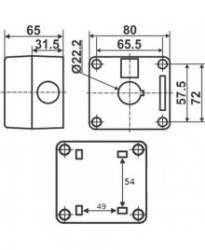 BX1Y - Kutija za Tastere