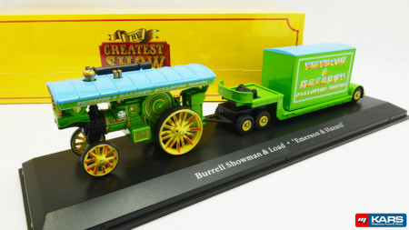 ATLAS 1:76 - BURRELL SHOWMAN'S LOCOMOTIVE