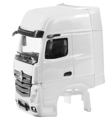 HERPA 1:87 - DRIVER'S CAB MERCEDES-BENZ ACTROS GIGASPACE 2018 WITH SIDE SKIRTING CONTENT: 2 PCS.