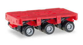 HERPA 1:87 - Goldhofer axles THP-SL 3a, red