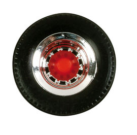 HERPA 1:87 - Tires for trailer (chromium / red, 12 sets)