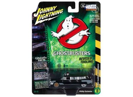 JOHNNY LIGHTNING 1:64 - GHOSTBUSTERS PROJECT PRE-ECTO *SILVER SCREEN SERIES*