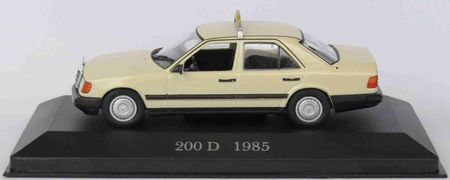 MERCEDES-BENZ Collection 1:43 - 200 D (W 124) German Taxi 1985