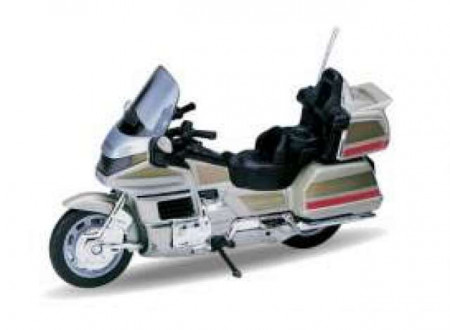 WELLY 1:18 - HONDA GOLD WING, CHAMPAGNE