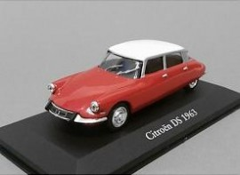 ATLAS 1:43 - CITROEN DS 1963 rood/w