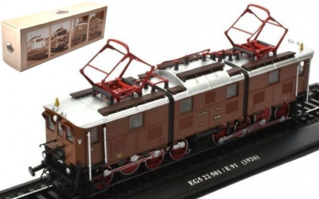 ATLAS 1:87 - EG5 22 501 / E 91 DEUTSCHE REICHSBAHN 1926 - LOCOMOTIVES OF THE WORLD