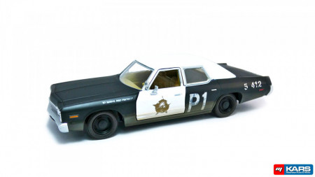 GREENLIGHT 1:24 - DODGE MONACO 1974 BLUES BROTHERS (1980) * HOLLYWOOD SERIES 1*