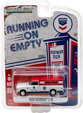 GREENLIGHT 1:64 - CHEVROLET C-10 1968 'STANDARD OIL' RUNNING ON EMPTY SERIES 1