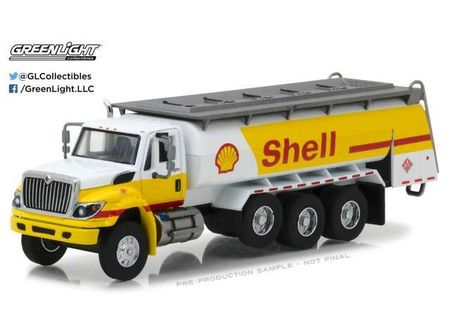 GREENLIGHT 1:64 - INTERNATIONAL WORKSTAR 'SHELL' 2017, TANKER TRUCK 'SUPER DUTY TRUCKS SERIES 2', YELLOW/WHITE
