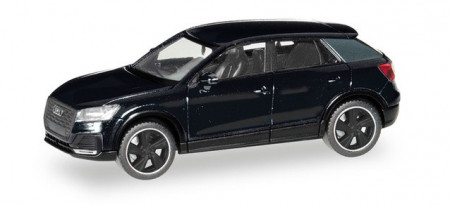 HERPA 1:87 - Audi Q2 Black Edition, brilliant black