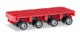 HERPA 1:87 - Goldhofer axles THP-SL 4a, red