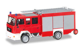 "HERPA 1:87 - MAN M 2000 fire truck HLF 20 ""fire Department, undecorated"""
