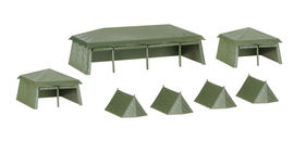 HERPA 1:87 - Military: Assembly kit tents (7 pieces)