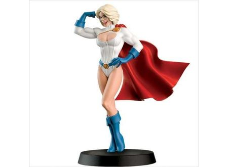 MAGAZINE MODELS 1:21 - POWERGIRL DC SUPERHERO COLLECTION 'RESIN SERIES'