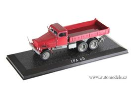 MAGAZINE MODELS 1:43 - IFA G5 TRUCK, RED