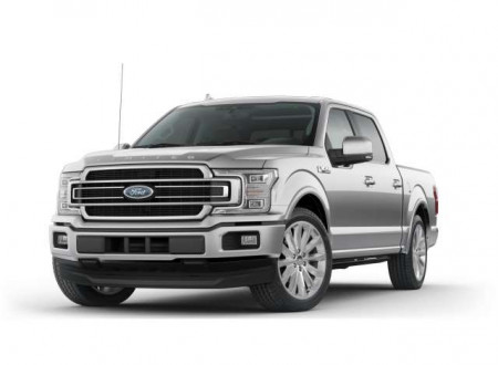 MOTORMAX 1:27 - FORD F-150 LIMITED CREW CAB 2019, INGOT SILVER