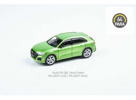 PARA64 1:64 - AUDI RS Q8 *LEFT HAND DRIVE*, JAVA GREEN