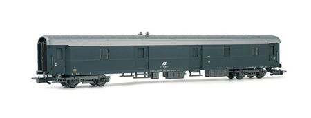 Rivarossi HO (1:87) - FS, luggage van, 1949 type, grey livery wi th 80s inclined FS logo