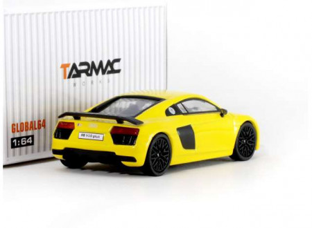 TARMAC 1:64 - AUDI R8 V10 *GLOBAL64 SERIES*, YELLOW