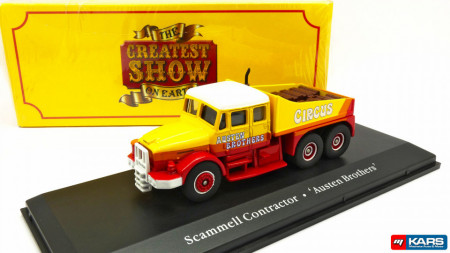 ATLAS 1:76 - SCAMMELL CONTRACTOR AUSTEN BROTHERS CIRCUS