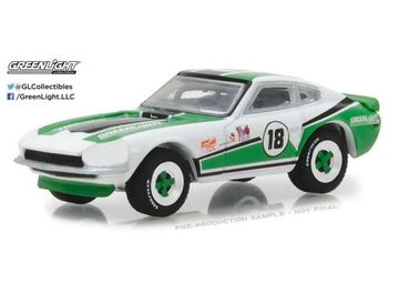 GREENLIGHT 1:64 - DATSUN 240Z #18 1970, GREENLIGHT RACING TEAM