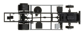 HERPA 1:87 - Chassis MAN TGL LKW 7,5 t for liftgate Content: 2 pcs.