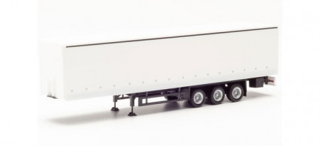 HERPA 1:87 - curtain semitrailer with tail lifts