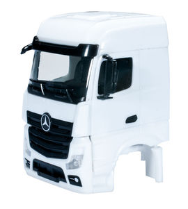 HERPA 1:87 - Mercedes-Benz Actros Bigspace driver's cabin without side skirting (incl. rear-view mirror) grill comes separately Content: 2 pcs.