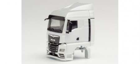 HERPA 1:87 - Parts service cab MAN TGX GM, with wind deflector and chassis cladding (2 pieces)