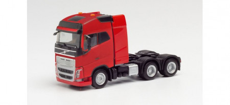 HERPA 1:87 - Volvo FH Gl. XL 6×4 tractor with heavy duty tower, red