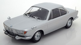 KK SCALE 1:18 - BMW 2000 CS, 1965 - ARGINTIU