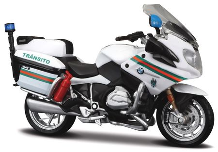MAISTO 1:18 - BMW R 1200 RT 'BRIGADA DE TRANSITO' PORTUGAL, WHITE/GREEN