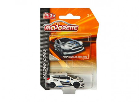 MAJORETTE 1:64 - FORD FIESTA RS WRC RALLY, WHITE/BLACK