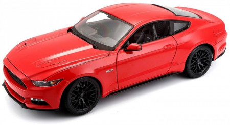 MOTORMAX 1:32-1:39 - FORD MUSTANG GT 2018 'PULL BACK', RED