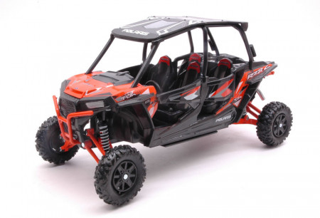 NEWRAY 1:18 - POLARIS RZR XP TURBO EPS ORANGE