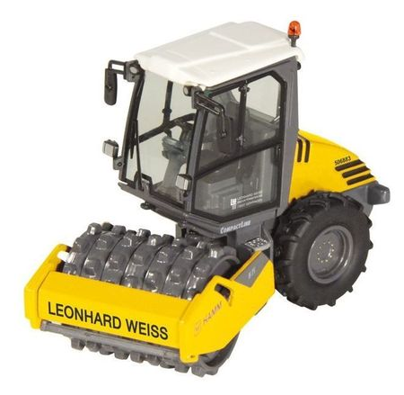 NZG 1:50 - Hamm H7I, Compactor With Pad Foot Leonhard Weiss