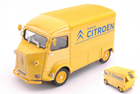 WELLY 1:24 - CITROEN HY TYPE 1962 CITROEN SERVICE YELLOW