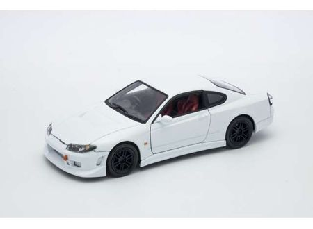 WELLY 1:24 - NISSAN SILVIA S-15, WHITE