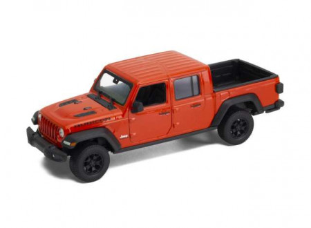 WELLY 1:27 - JEEP RUBICON 2019, ORANGE